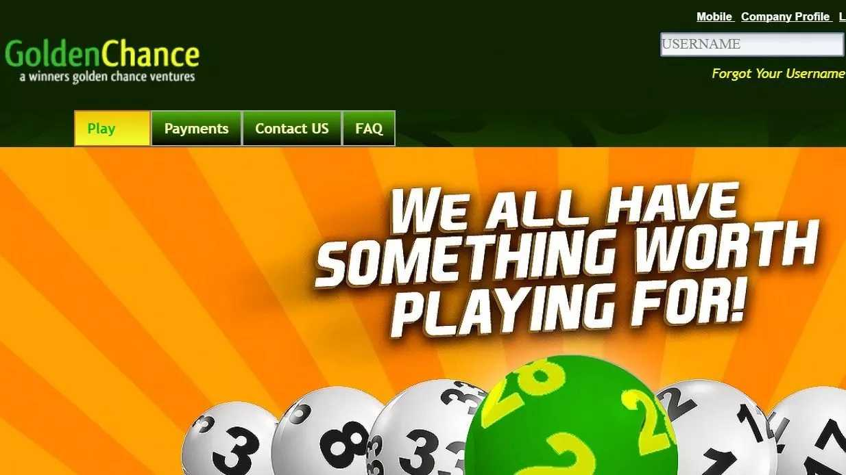Scooper - Education News: How to play Golden chance lotto online