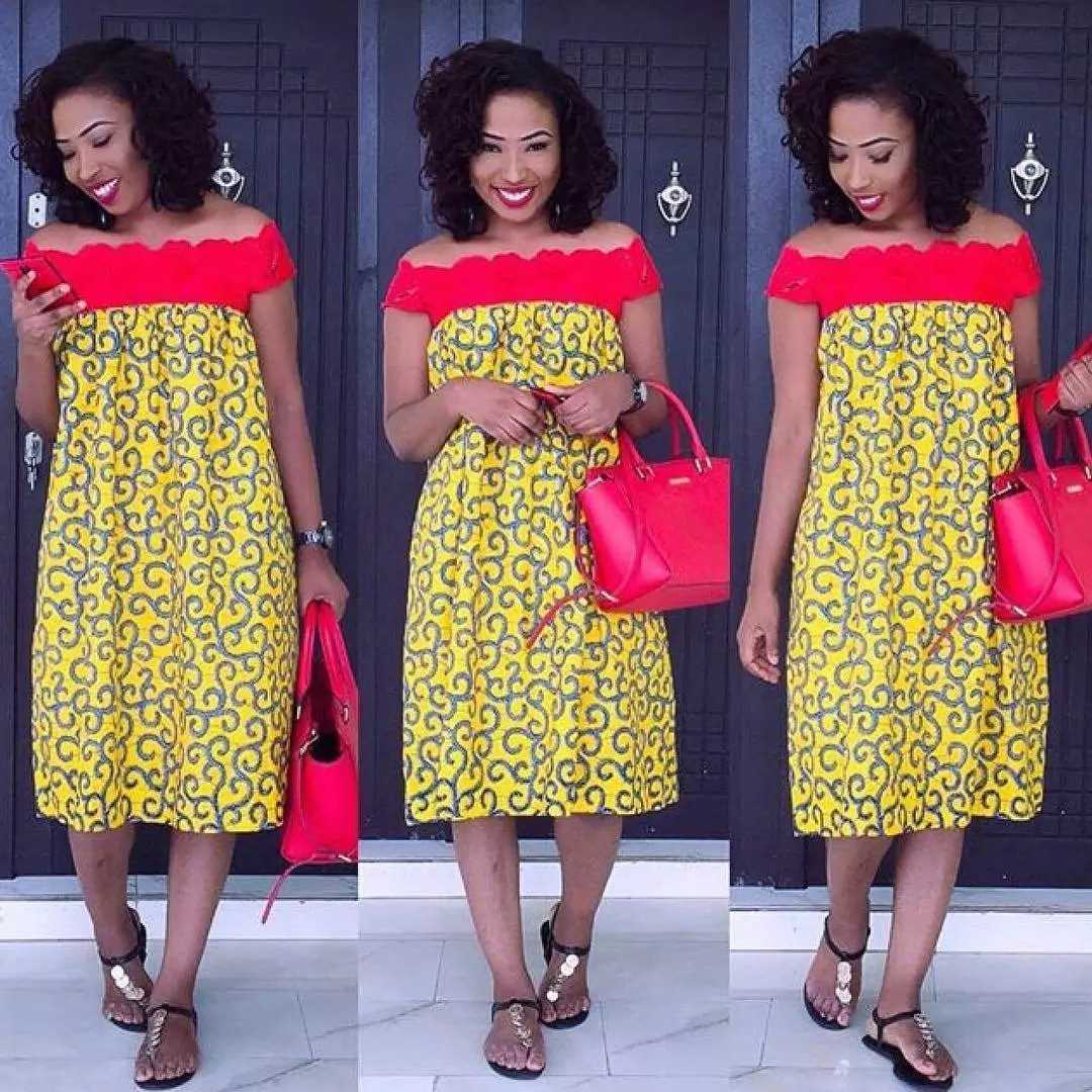8c814bfcbb8ec Latest Kitenge Dresses For Ladies