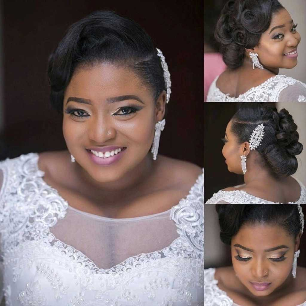 Scooper Femininity News Latest Nigerian Wedding Hairstyles