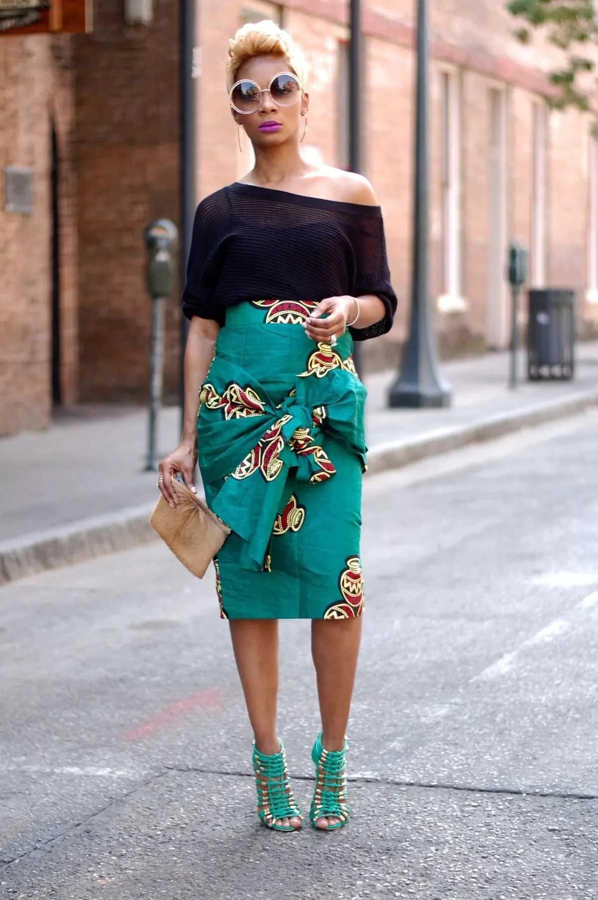 Scooper Fashion News Best Kitenge Skirts Designs In Kenya