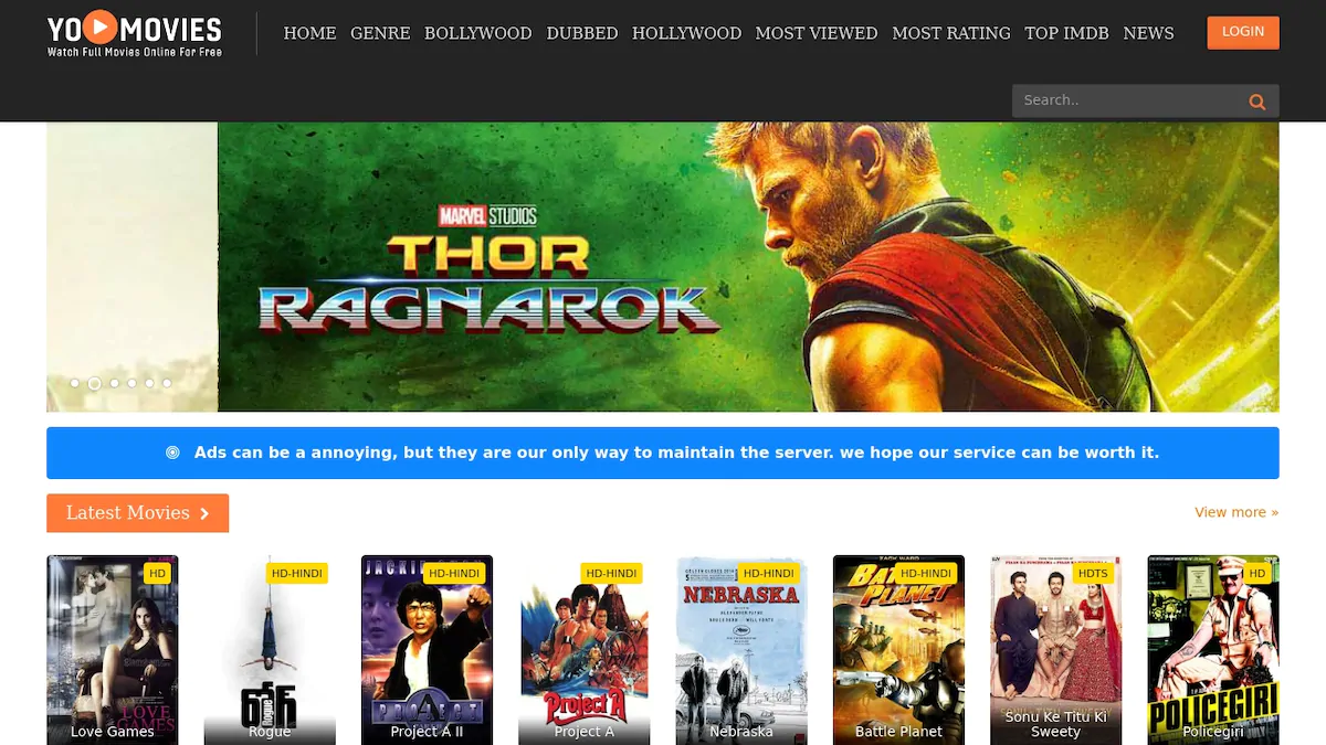 Scooper - Technology News: Top 10 websites to watch movies