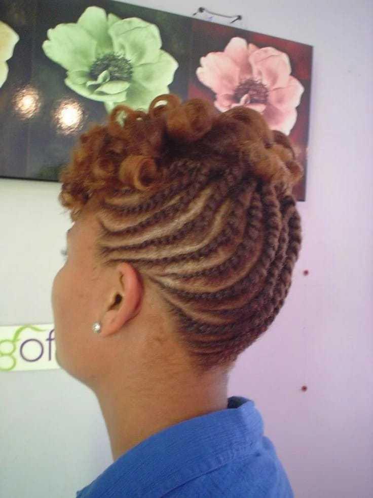 20 Cute Kinky Twist Hairstyles For Short Hair