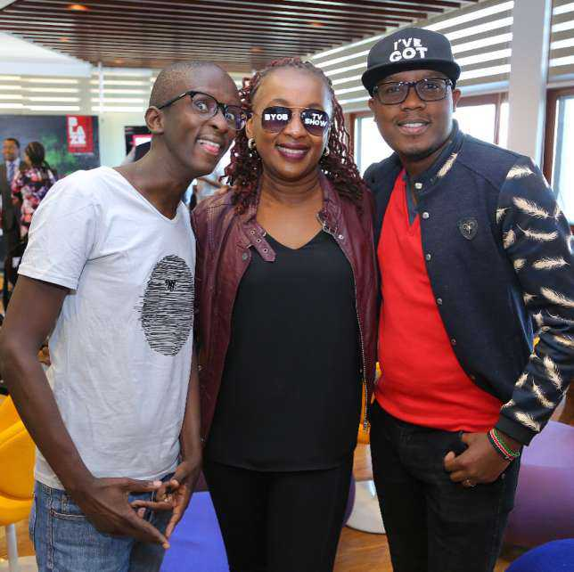Abel Mutua Comedian Njugushs Expensive Gift To Mentor On His Birthday Photos