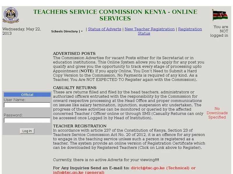 Scooper - Education News: TSC new teacher registration guide