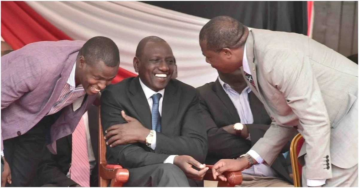 Image result for ndindi Nyoro with Ruto