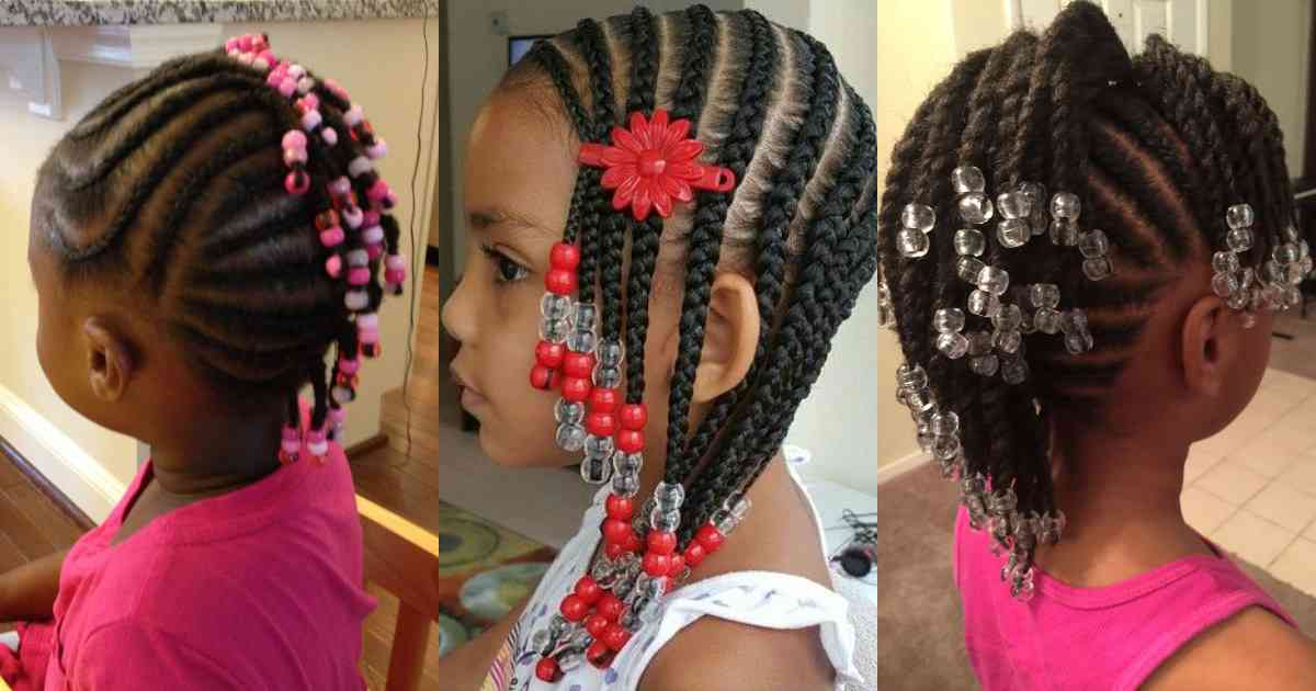 Scooper Femininity News Toddler Braided Hairstyles With Beads For