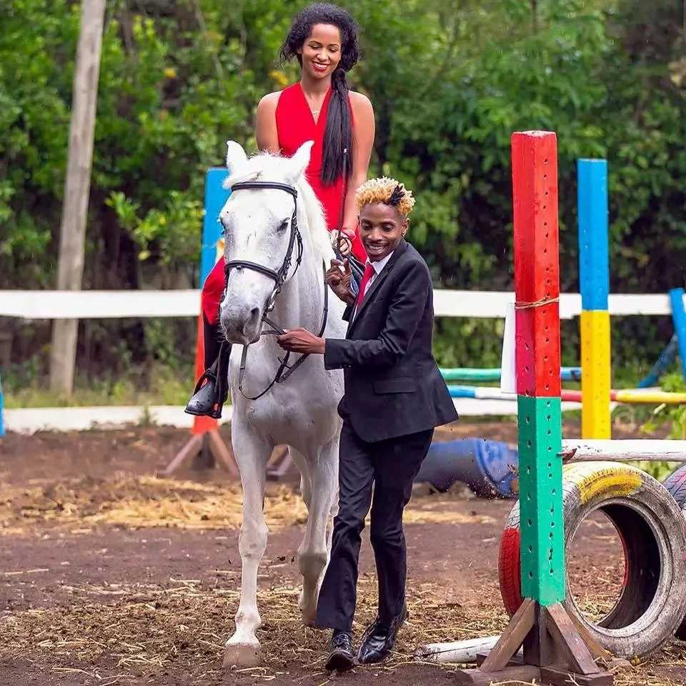Image result for eric omondi and girlfriend