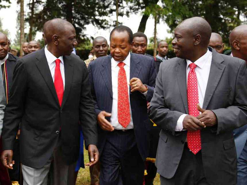 Image result for Rigathi Gachagua with Ruto